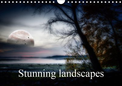 Stunning landscapes (Wall Calendar 2019 DIN A4 Landscape), Alain Gaymard