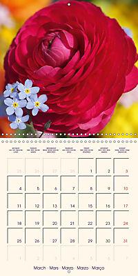 Stunning Spring Flowers (Wall Calendar 2019 300 × 300 mm Square) - Produktdetailbild 3
