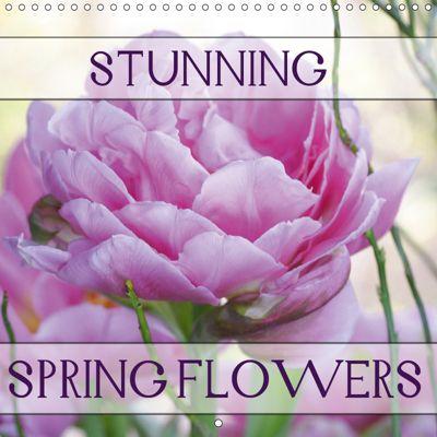Stunning Spring Flowers (Wall Calendar 2019 300 × 300 mm Square), Gisela Kruse