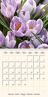 Stunning Spring Flowers (Wall Calendar 2019 300 × 300 mm Square) - Produktdetailbild 2