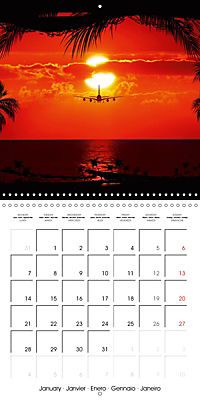 Stunning Sunsets (Wall Calendar 2019 300 × 300 mm Square) - Produktdetailbild 1