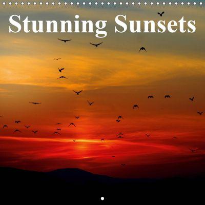 Stunning Sunsets (Wall Calendar 2019 300 × 300 mm Square), Elisabeth Stanzer