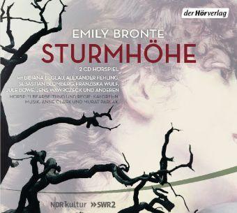 Sturmhöhe, 2 Audio-CDs, Emily Brontë