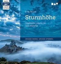 Sturmhöhe, 2 MP3-CDs, Brontë Emily