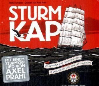 Sturmkap, 2 Audio-CDs, Stefan Krücken