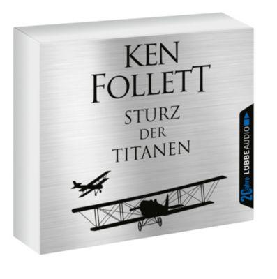 Sturz der Titanen, 12 Audio-CDs, Ken Follett