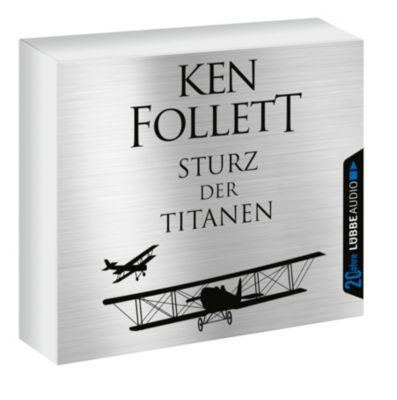 Sturz der Titanen, 12 Audio-CDs, Ken Follett