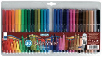 Stylex Fasermalstifte 30er