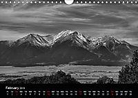 Sublime Colorado In Shades of Grey (Wall Calendar 2019 DIN A4 Landscape) - Produktdetailbild 2