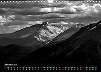 Sublime Colorado In Shades of Grey (Wall Calendar 2019 DIN A4 Landscape) - Produktdetailbild 1