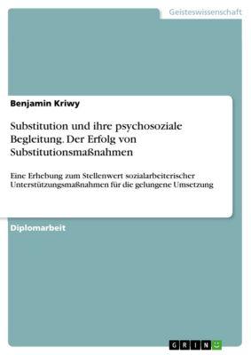 Substitution und ihre psychosoziale Begleitung. Der Erfolg von Substitutionsmassnahmen, Benjamin Kriwy