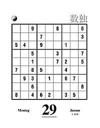 Sudoku Abreißkal. 2018 - Produktdetailbild 1