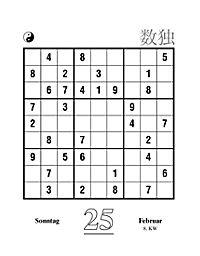 Sudoku Abreißkal. 2018 - Produktdetailbild 3
