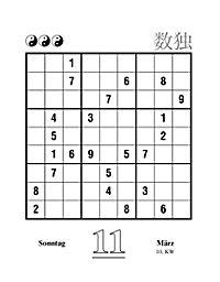 Sudoku Abreißkal. 2018 - Produktdetailbild 4