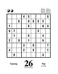 Sudoku Abreißkal. 2018 - Produktdetailbild 10