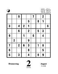 Sudoku Abreißkal. 2018 - Produktdetailbild 15