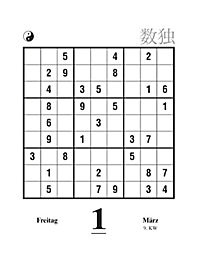 Sudoku Abreisskalender 2019 - Produktdetailbild 1