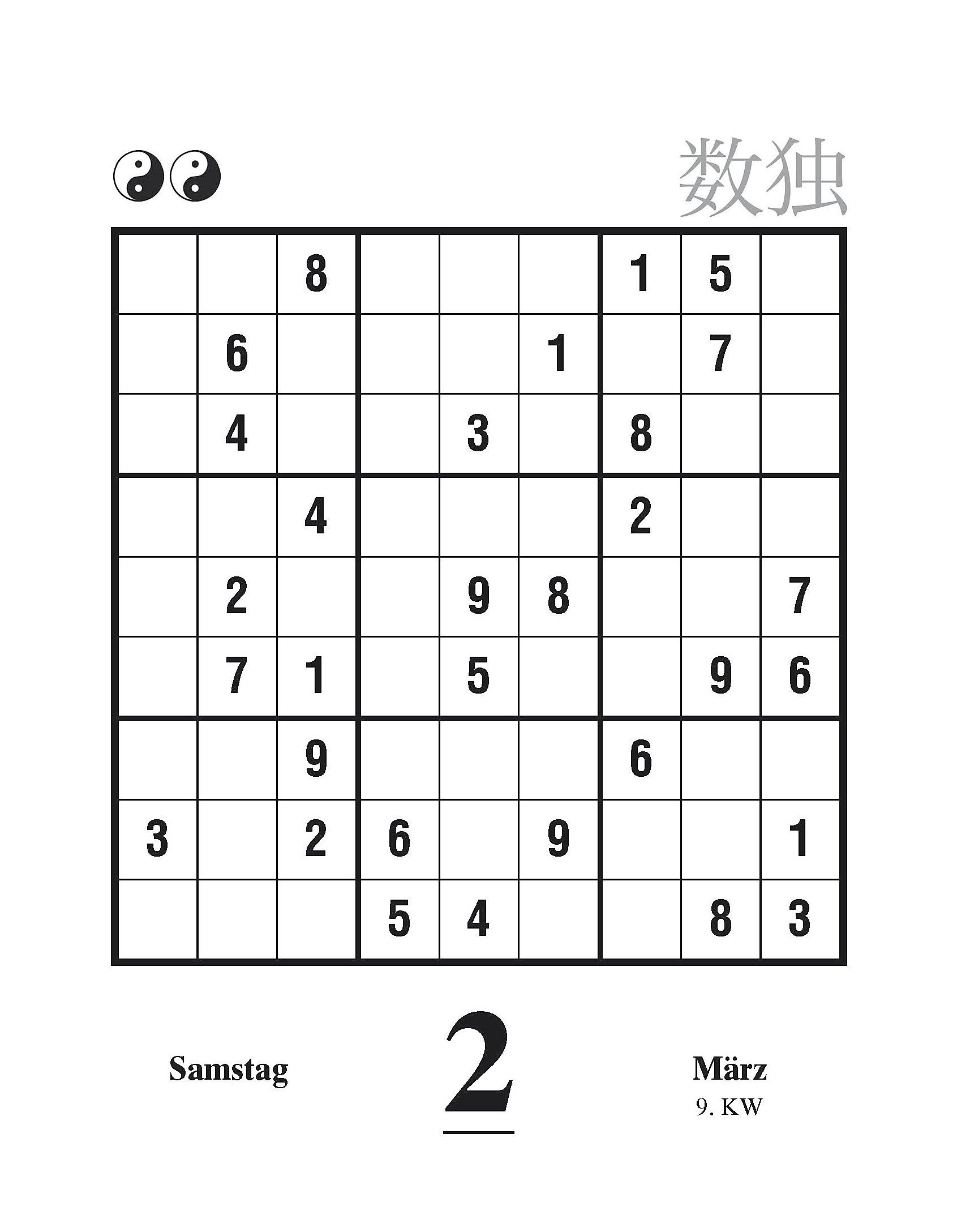 sudoku gewinnspiel 2019