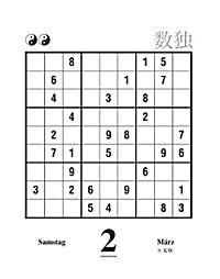 Sudoku Abreisskalender 2019 - Produktdetailbild 3