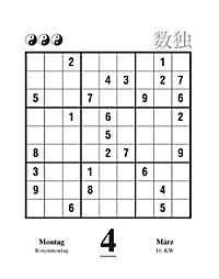 Sudoku Abreisskalender 2019 - Produktdetailbild 7