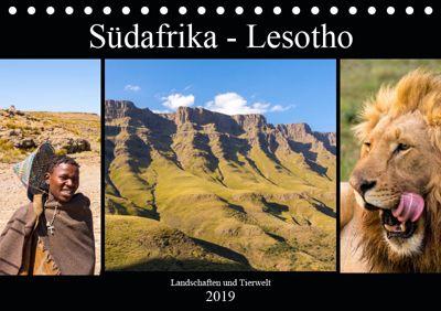 Südafrika - Lesotho (Tischkalender 2019 DIN A5 quer), Patrick Lehrbach