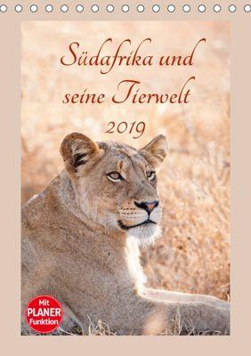 Südafrika und seine Tierwelt (Tischkalender 2019 DIN A5 hoch), © Kirsten und Holger Karius