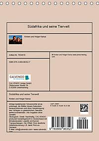 Südafrika und seine Tierwelt (Tischkalender 2019 DIN A5 hoch) - Produktdetailbild 13