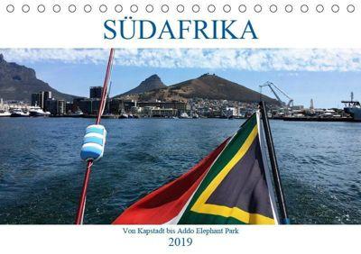 Südafrika - Von Kapstadt bis Addo Elephant Park (Tischkalender 2019 DIN A5 quer), K. Berretz