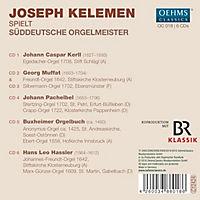 Süddeutsche Orgelmeister - Produktdetailbild 1