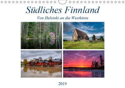 Südliches Finnland (Wandkalender 2019 DIN A4 quer), Peter Härlein