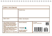 Südtirol - Anno Dazumal (Tischkalender 2019 DIN A5 quer) - Produktdetailbild 13