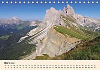 Südtirol - Zwischen Ortler und Dolomiten (Tischkalender 2019 DIN A5 quer) - Produktdetailbild 3