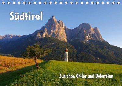 Südtirol - Zwischen Ortler und Dolomiten (Tischkalender 2019 DIN A5 quer), k.A. LianeM