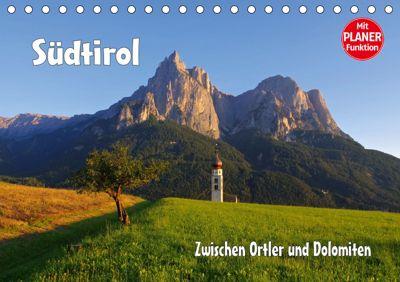 Südtirol - Zwischen Ortler und Dolomiten (Tischkalender 2019 DIN A5 quer), LianeM