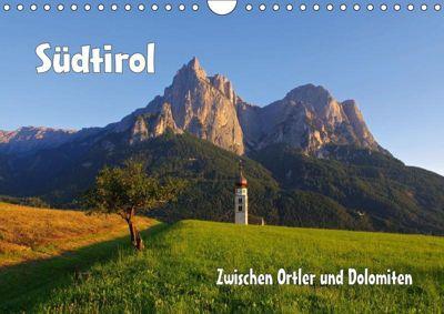 Südtirol - Zwischen Ortler und Dolomiten (Wandkalender 2019 DIN A4 quer), k.A. LianeM