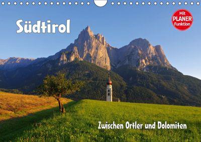 Südtirol - Zwischen Ortler und Dolomiten (Wandkalender 2019 DIN A4 quer), LianeM