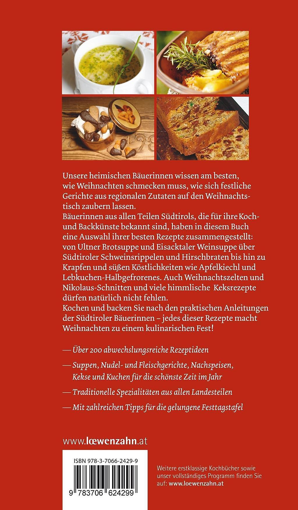 Südtiroler Bäuerinnen decken den Weihnachtstisch Buch portofrei