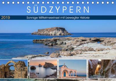 Südzypern, sonnige Mittelmeerinsel mit bewegter Historie (Tischkalender 2019 DIN A5 quer), Joana Kruse