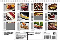 Süße Sünden. Torten, Schnitten, cremiges Vergnügen (Wandkalender 2019 DIN A4 quer) - Produktdetailbild 13