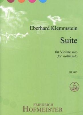 Suite, für Violine, Eberhard Klemmstein