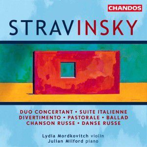 Suite Italienne/duo Concertant, Lydia Mordkovitch, J. Milford