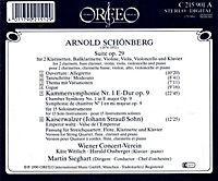 Suite Op.29/Kammersinfonie 1 Op.9/Kaiserwalzer - Produktdetailbild 1