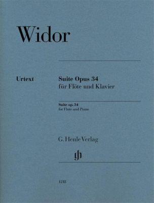 Suite Opus 34 für Flöte und Klavier, Charles-Marie Widor