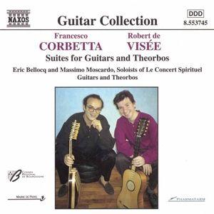 Suiten F.Gitarren U.Theorben, Eric Bellocq, Massimo Moscardo