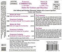 Suiten für Gitarren und Theorben (Werke von Corbetta und Visee) - Produktdetailbild 1