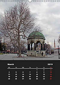 Sultanahmet - Historic Center of Istanbul / UK-Version (Wall Calendar 2019 DIN A3 Portrait) - Produktdetailbild 3