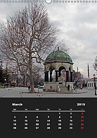 Sultanahmet - Historic Center of Istanbul / UK-Version (Wall Calendar 2019 DIN A3 Portrait) - Produktdetailbild 3