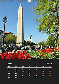 Sultanahmet - Historic Center of Istanbul / UK-Version (Wall Calendar 2019 DIN A3 Portrait) - Produktdetailbild 4