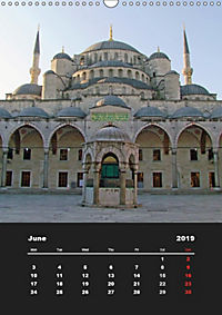 Sultanahmet - Historic Center of Istanbul / UK-Version (Wall Calendar 2019 DIN A3 Portrait) - Produktdetailbild 6