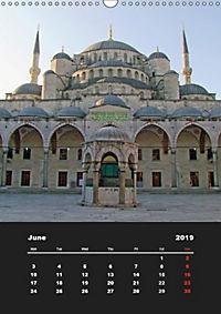 Sultanahmet - Historic Center of Istanbul / UK-Version (Wall Calendar 2019 DIN A3 Portrait) - Produktdetailbild 6
